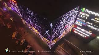 Архитектурное освещение ТРЦ Ворошиловский (г. Волгоград)