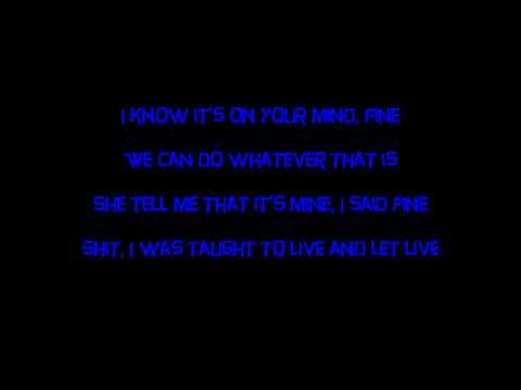 Lil Wayne - Marvin's Room (Lyrics on Screen)