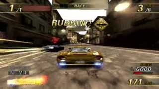 Burnout Revenge on PC using pcsx2