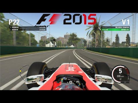 Probando F1 2015 para PC || Circuito Albert Park (Australia) #RIPJules