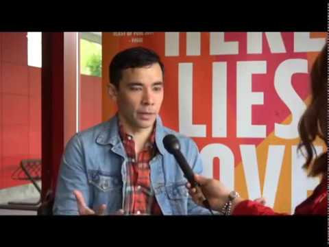 Conrad Ricamora - 'Here Lies Love' Seattle interview (May 31, 2017)