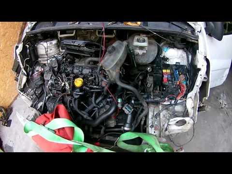 Renault Trafic Трафик 1.9 не заводится поиск причины проводка