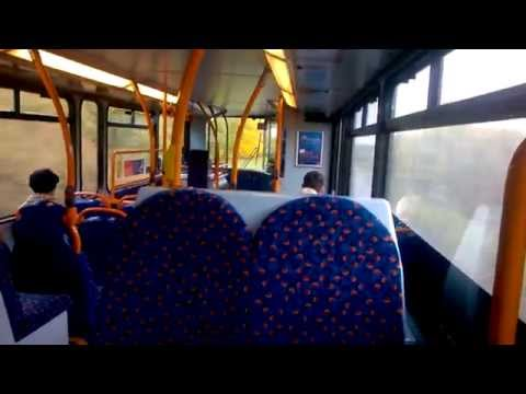Stagecoach In Bedford Transbus Dennis Trident 18060 AE53TZM Route 41 Northampton to Bedford..Thrash!