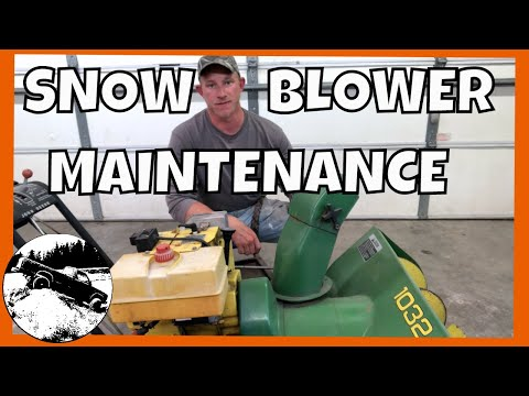 How To Get Your Snowblower Ready For Winter | John Deere 1032