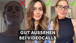 VIDEOTELEFONAT - SO siehst du IMMER GUT aus! 😍 Facetime, Zoom, Skype, Houseparty etc. |Sheila Gomez