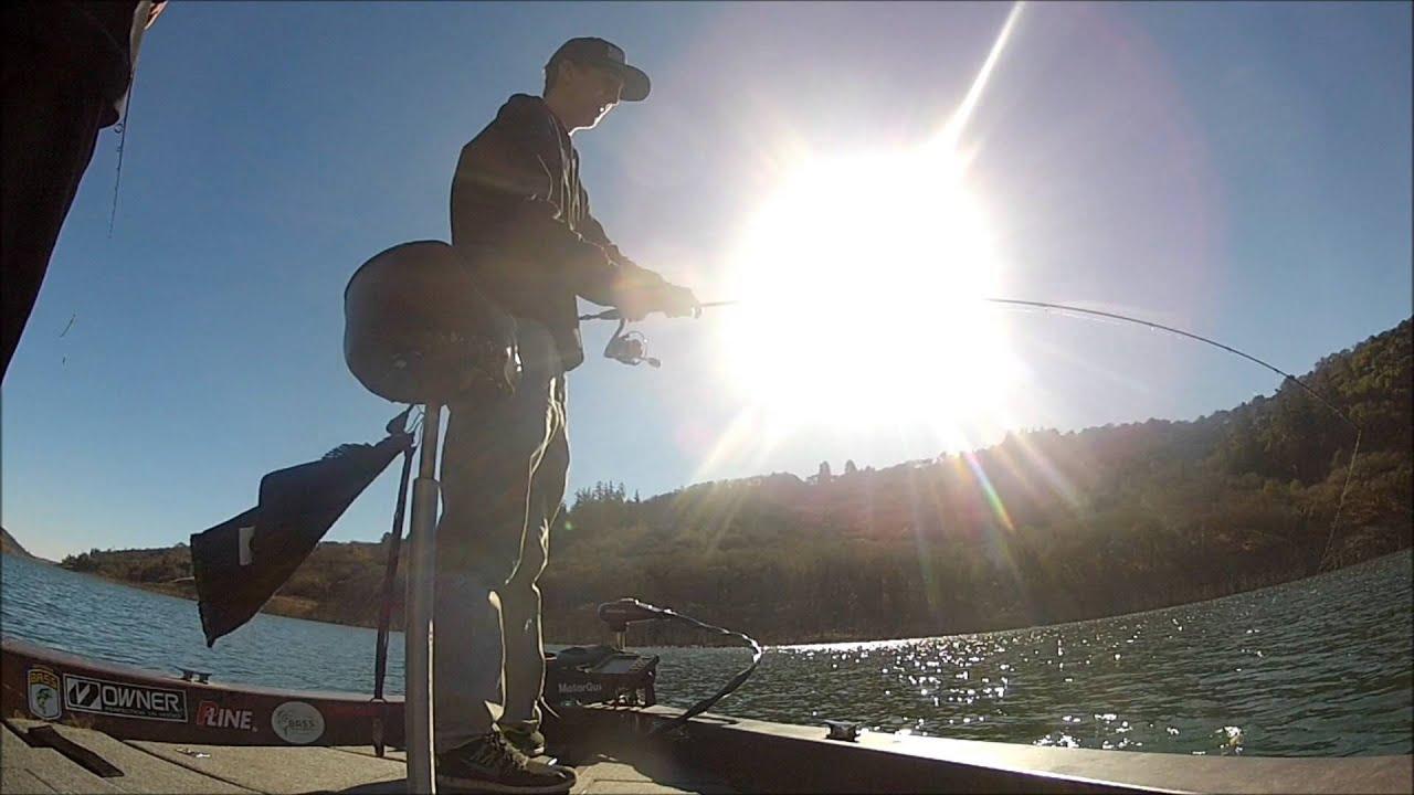 Lake sonoma winter fishing youtube for Lake sonoma fishing report