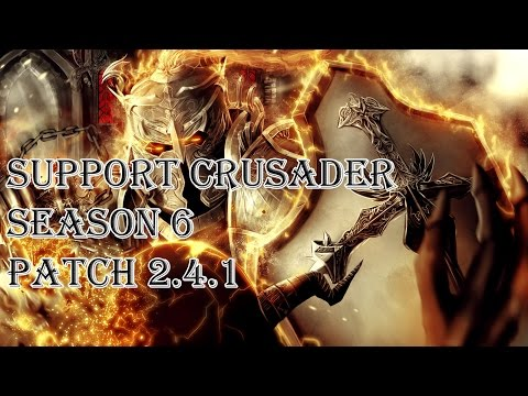 Diablo 3 RoS - Support Heal Crusader Season 6 (Patch 2.4.1)