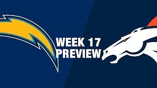 Chargers vs. Broncos Preview (Week 17) | NFL