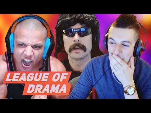 Tyler1 speaks about Twitch & Dr Disrespect - Gross Gore gets mad at Greekgodx & Editors DRAMA!