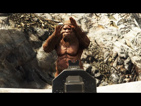 "GTA 5 | FOUND FOOTAGE OF BIGFOOT! | ""Bigfoot Myth Hunting"""
