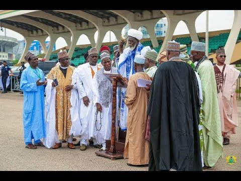 Ghana: Muslims offer Eid prayers to end month long Fasting