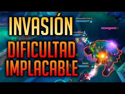 INVASIÓN... ¡DIFICULTAD IMPLACABLE!