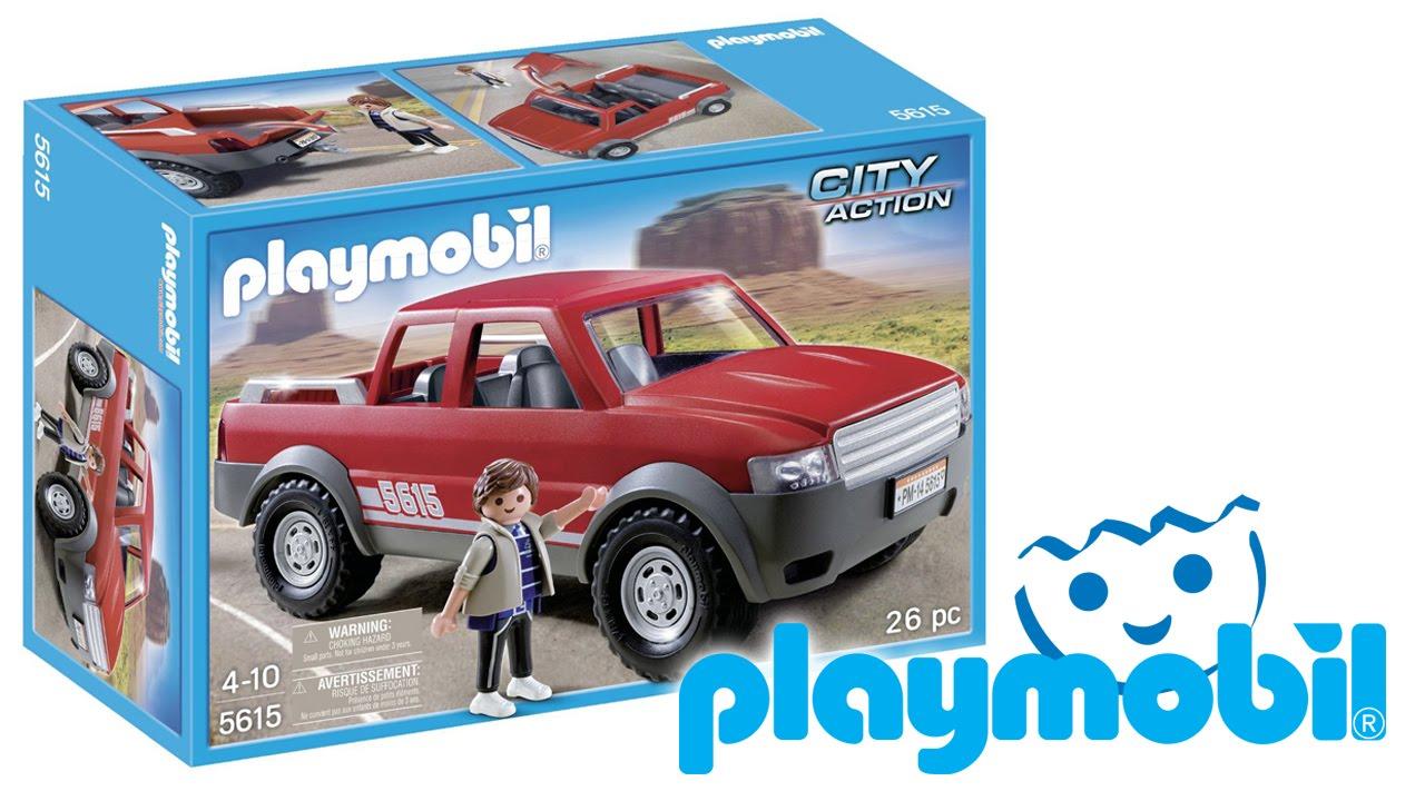 Playmobil City Action  Pick Up Truck Eng Playmobil