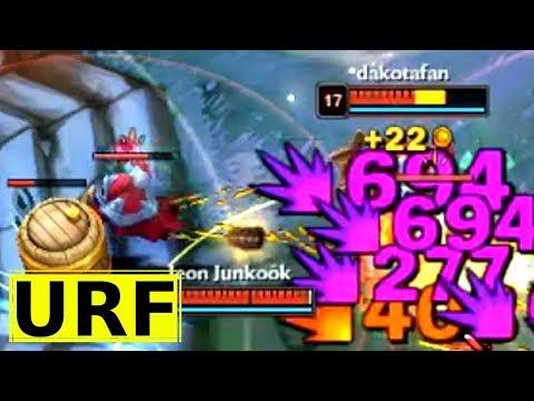 The RETURN of AD LB - LoL Snow Battle ARURF on Mistletoe LeBlanc - League of Legends URF