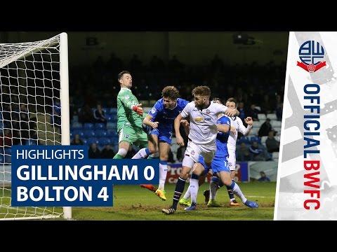 HIGHLIGHTS | Gillingham 0-4 Bolton