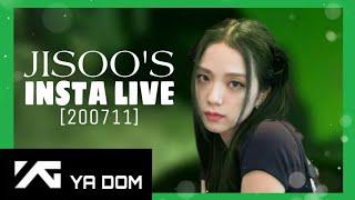 [200711] JISOO FULL INSTAGRAM LIVE
