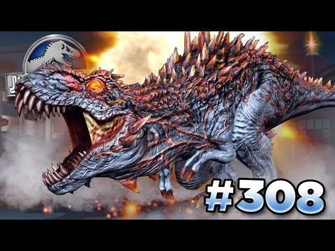 NEW BOSS ALPHA 06 ERUPTS INTO BATTLE!    Jurassic World - The Game - Ep308 HD