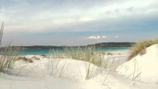 "Teulada - Spiaggia ""Is Arenas Biancas"" e dune di sabbia vicino a Portopino - Sardegna"