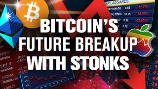 BITCOIN Will Crash w/ Stock Market! Why!? How Long!?
