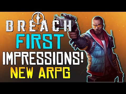 """BREACH: First Impressions - """"A New Co-op Action RPG!""""... Is It Worth Your Time? - #PlayBreach"""