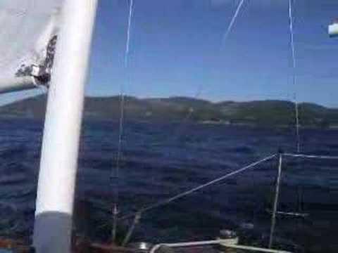 Sailing the D'Entrecasteaux Channel Tasmania