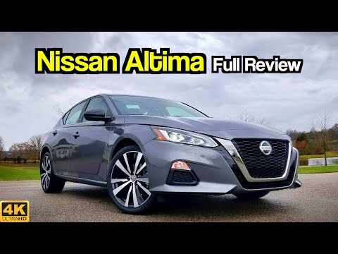 2019 Nissan Altima Review: Longer, Wider & Now With All ...