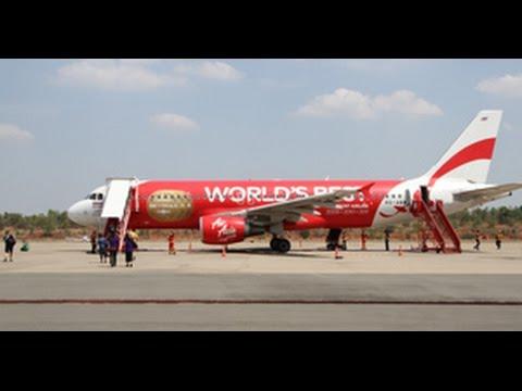 นั่งก่อนใคร! เที่ยวบินบุรีรัมย์ - ดอนเมือง แอร์เอเชียเที่ยวแรก บอกเลยบินคุ้ม คุณภาพครบมากๆ Air Asia