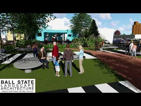 Downtown Revitalization Ideas for Seymour, Indiana