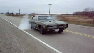 1969 GTO Judge Ram Air IV Burnout