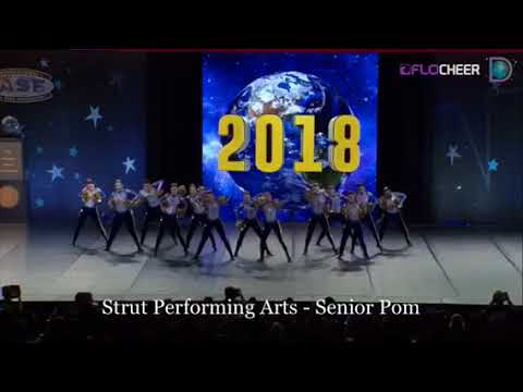 Strut Performing Arts: Small Senior Pom 2018