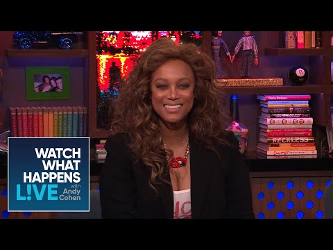 When Did Tyra Banks Last Speak To Naomi Campbell? | WWHL