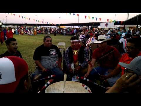 NORTHERN CREE - COMANCHE NATION FAIR 2015