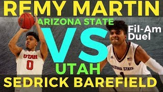 Fil-Am DUEL: Remy Martin vs Sedrick Barefield Game Review