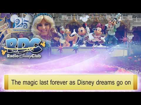 The Dream Goes On Lyrics (2013) - Tokyo Disney Resort
