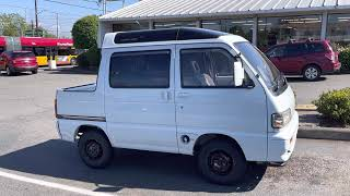 Daihatsu Atrai Deck 4WD turbo 660efi MT5 редкая машинка