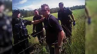 Police Chase Four People Through Cane Field