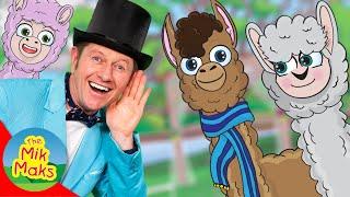 Farmer Llama | Kids Songs and Nursery Rhymes | The Mik Maks