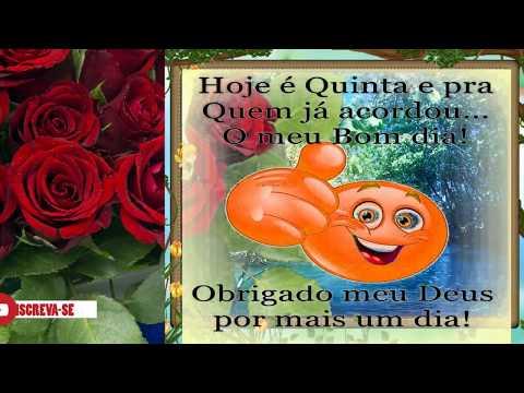 Imagens de Bom Dia Feliz Quinta Feira Com Frases Lindas, para Meus Amigos.