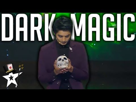 Dark Illusionist Finalist | All Performances | Myanmar's Got Talent 2018