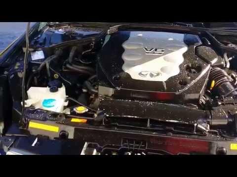 2006 Infiniti G35X Sedan Engine Detail