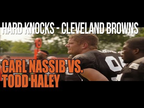 Hard Knocks Cleveland Browns Episode 3 Carl Nassib vs Todd Haley