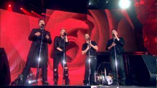 Westlife - Uptown Girl & Swear It Again acapella [Where We Are tour DVD] HQ