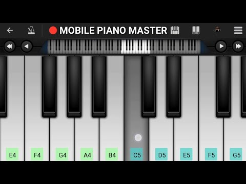 Jiye To Jiye Kaise Bin Aapke Piano|Piano Keyboard|Piano Lessons|Piano Music|learn piano Online|Piano