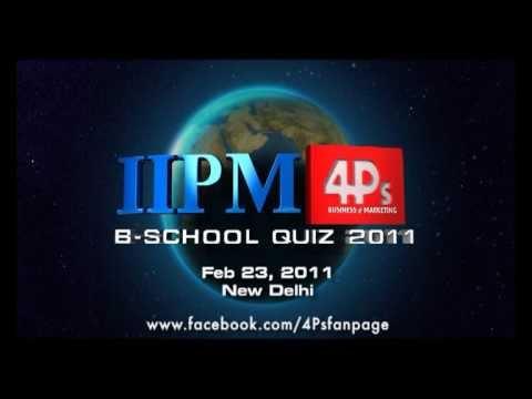 IIPM 4Ps Bschool Quiz With SRK, TVC 1