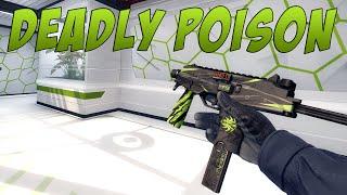 CS:GO - MP9 | Deadly Poison Gameplay
