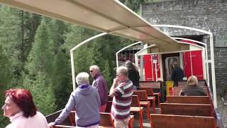 Schweiz 2017 Bernina Express     Davos - Tirano  Im Aussichtswagen