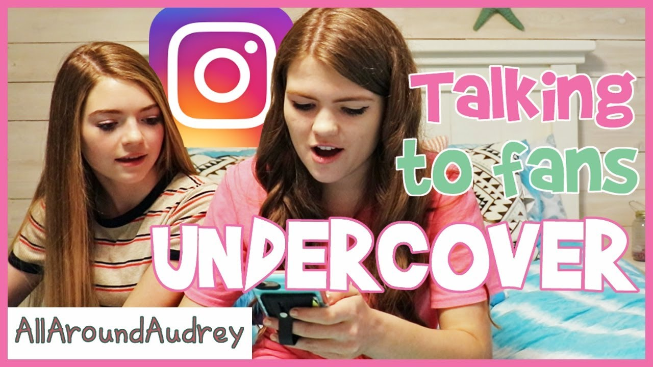 Talking To Fans Undercover On Instagram / AllAroundAudrey