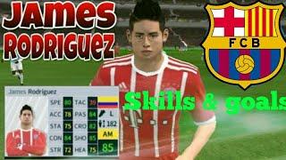James Rodriguez - skills & goals - Dream League Soccer 2018