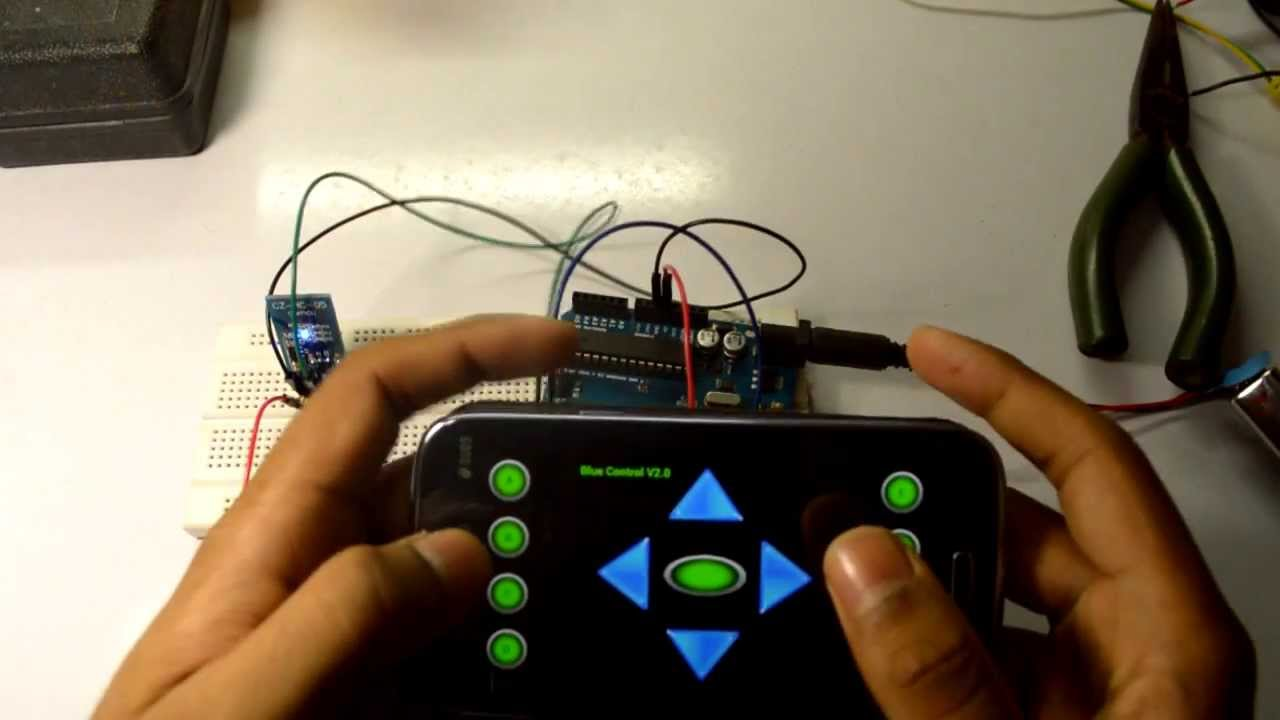 Arduino bluetooth control with android doovi