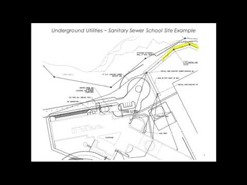 Underground Utilities - Sanitary Sewers